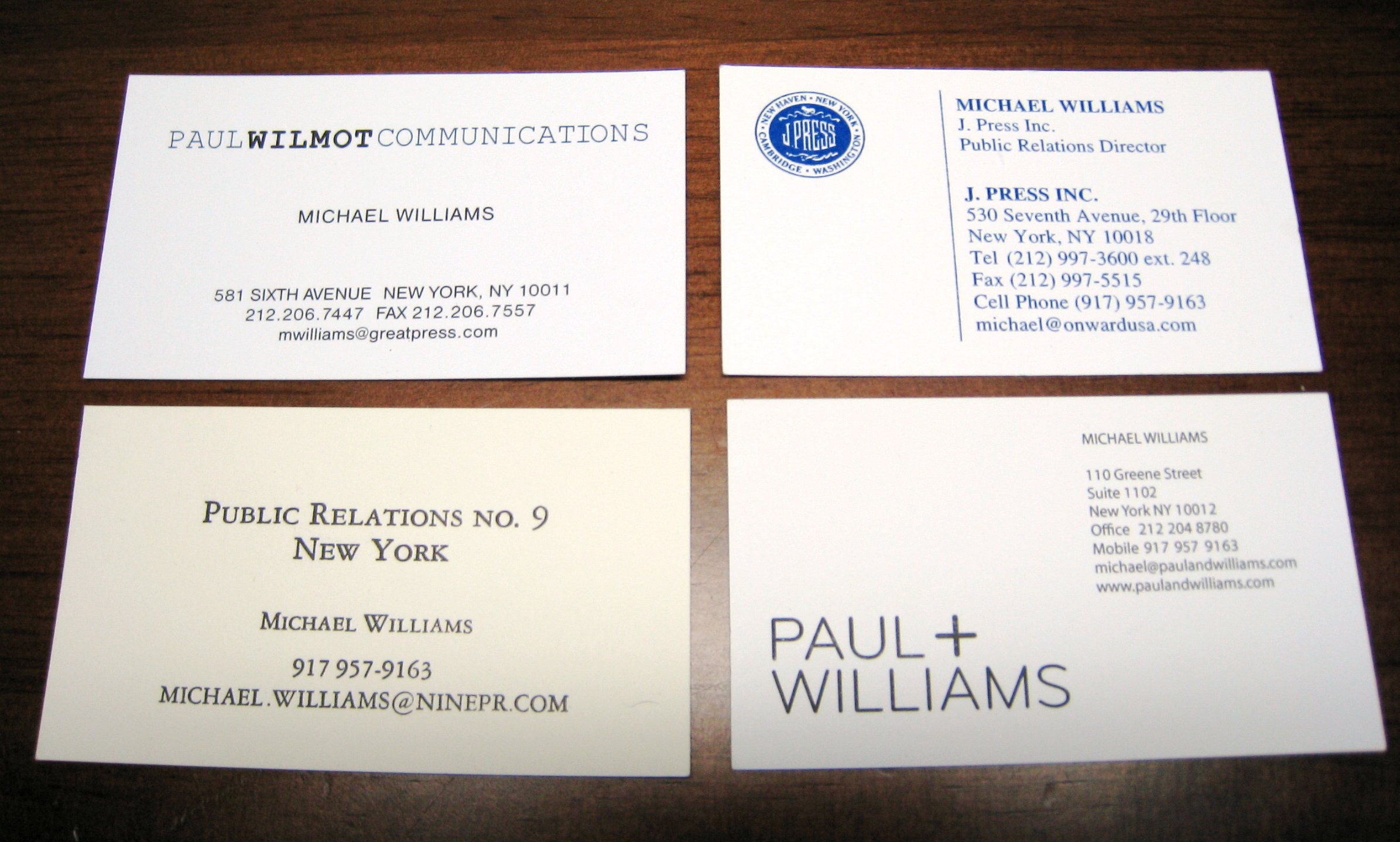 Flickr Find | Business Cards | A Continuous Lean.