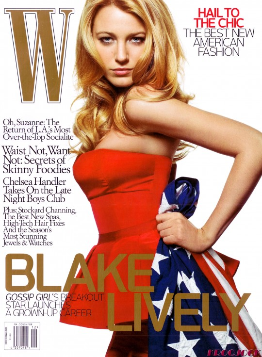 Blake Lively W Magazine Cover