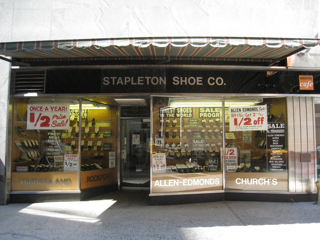 American Shoe Shops In New York