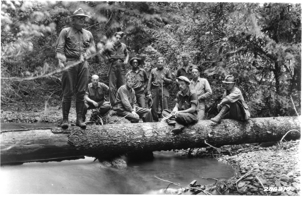 In The Wild Civilian Conservation Corps A Continuous Lean