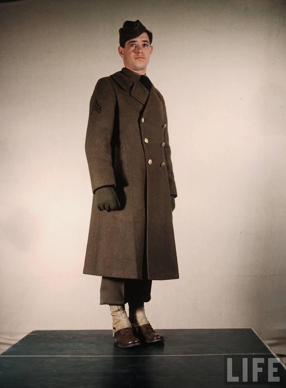 Life Archive | U.S. Military Uniforms c.1941 | A ... - photo#9