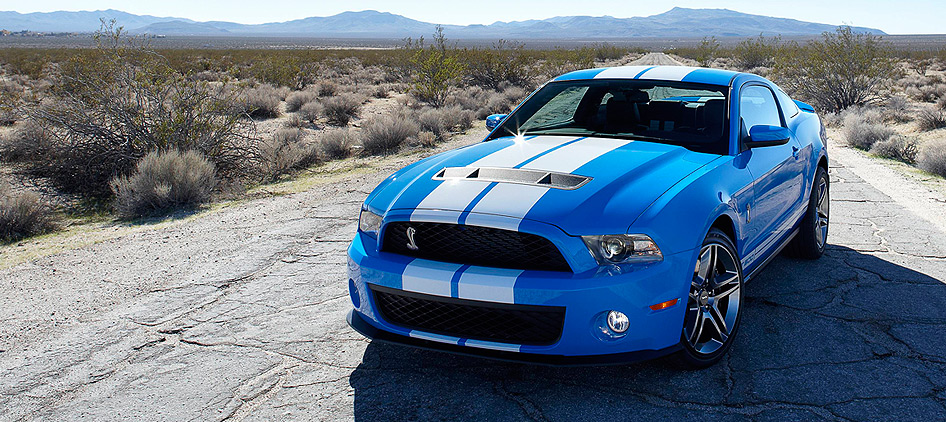 ford mustang shelby. The redesigned Mustangs have
